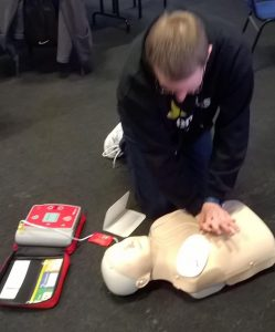 First Aid Training - 2017